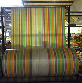高级五色彩条布